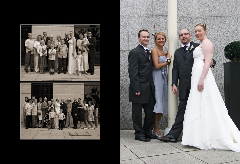 The Wedding of Jennie & Andy at the crowne Plaza, Liverpool